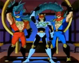 Double Dragon Dojo: Cartoon Characters