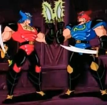 shadow master double dragon cartoon