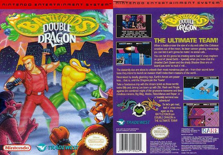 Double Dragon Dojo Battletoads And Double Dragon Nes Version Review