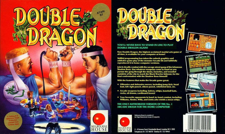 Double Dragon Dojo Double Dragon Atari St Version Review