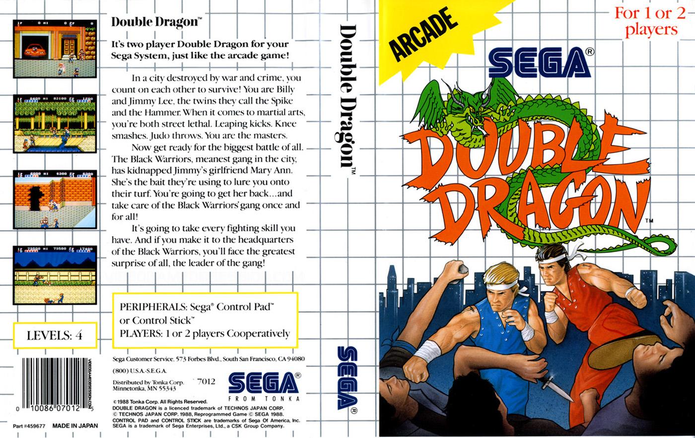 double dragon 2 game boy review
