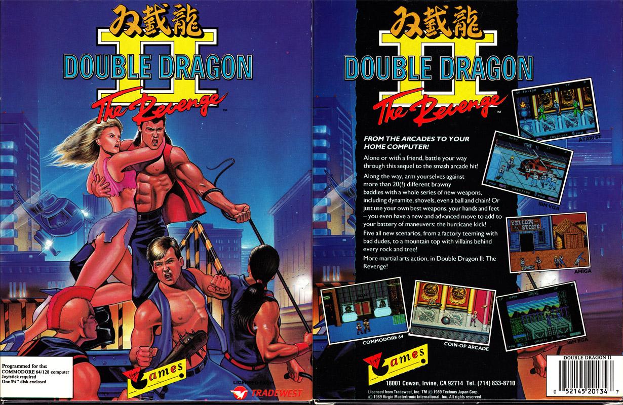 Double Dragon Dojo Double Dragon Ii Commodore 64 Version Review