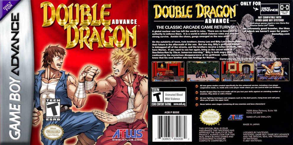 double dragon game boy advance
