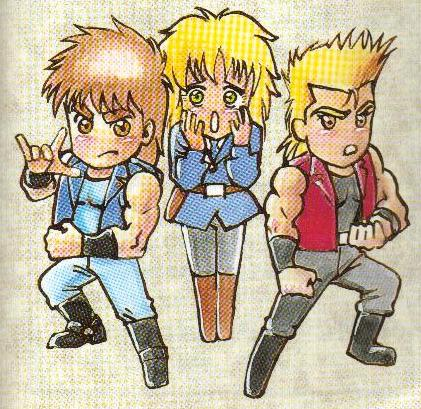 Double Dragon Dojo: Super Double Dragon characters
