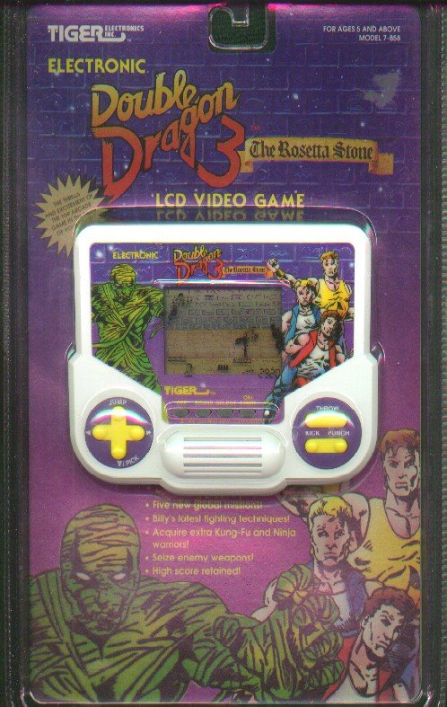 Double Dragon Dojo: Tiger handhelds