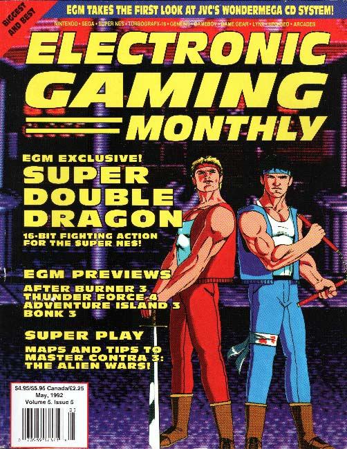 Double Dragon Dojo: EGM Super Double Dragon article